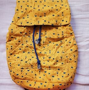 New colourful backpack